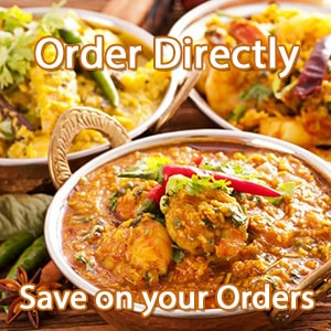 Order from Ali's Balti in Corby instead of Just Eat